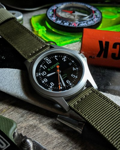 Vintage Inspired Field Watches