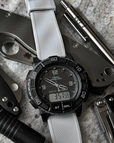 Timex ani digi watch