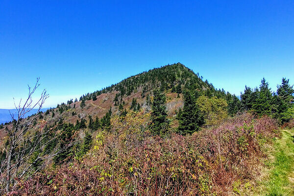Black Mountain Crest trail Celo Knob