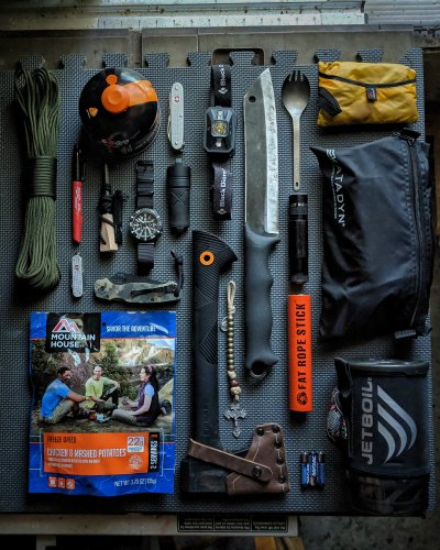 Gear For A Solo Overnight Backpacking Trip
