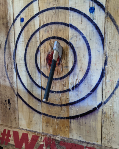 Why Is Axe Throwing So Popular