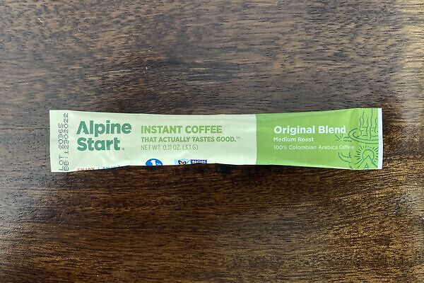 Instant coffee that actually tastes good